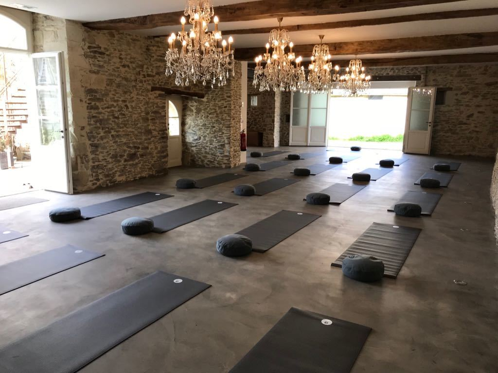 chateau epinay yoga retraite detox weekend