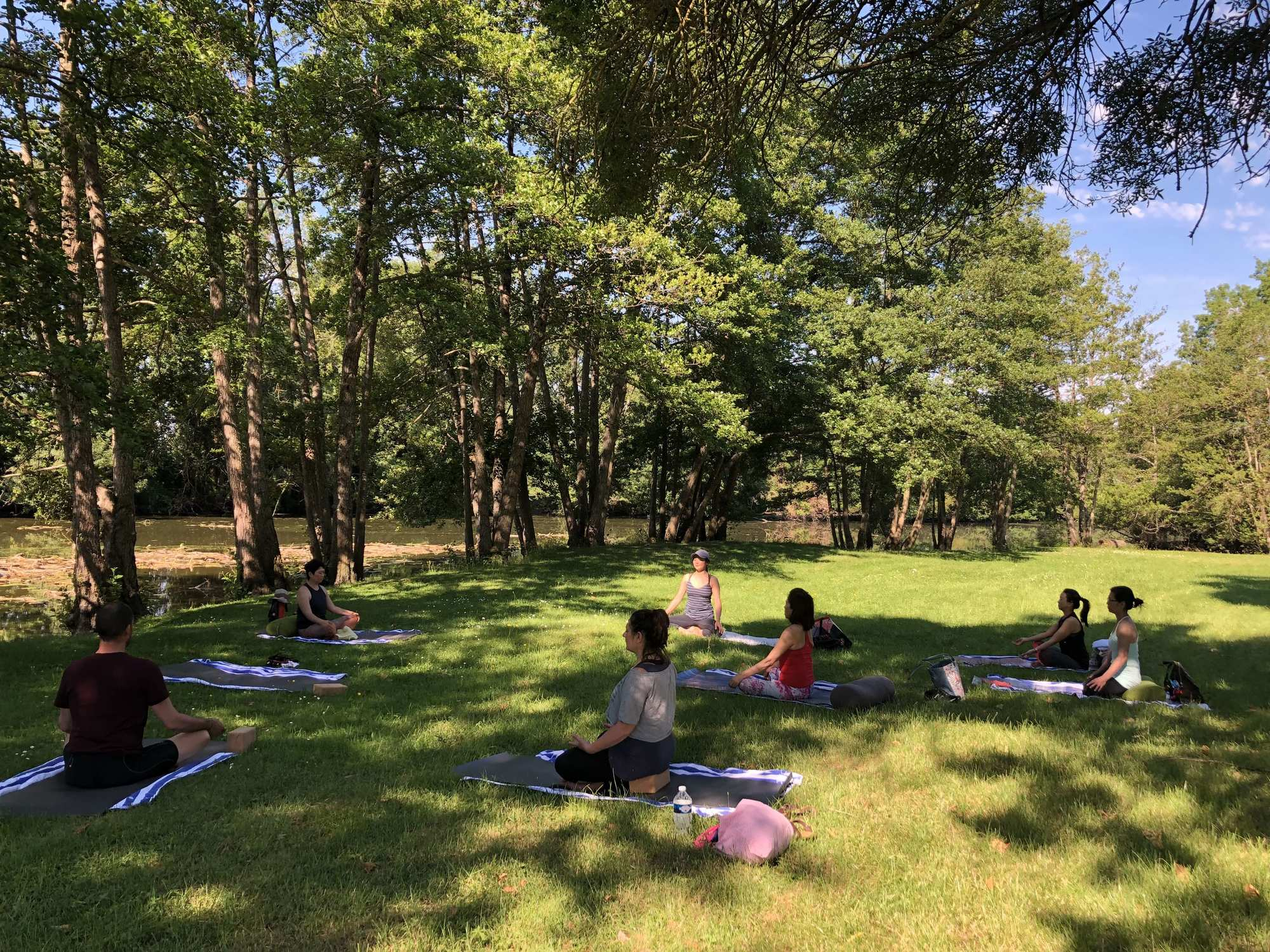 retreat yoga well being detox meditation nature