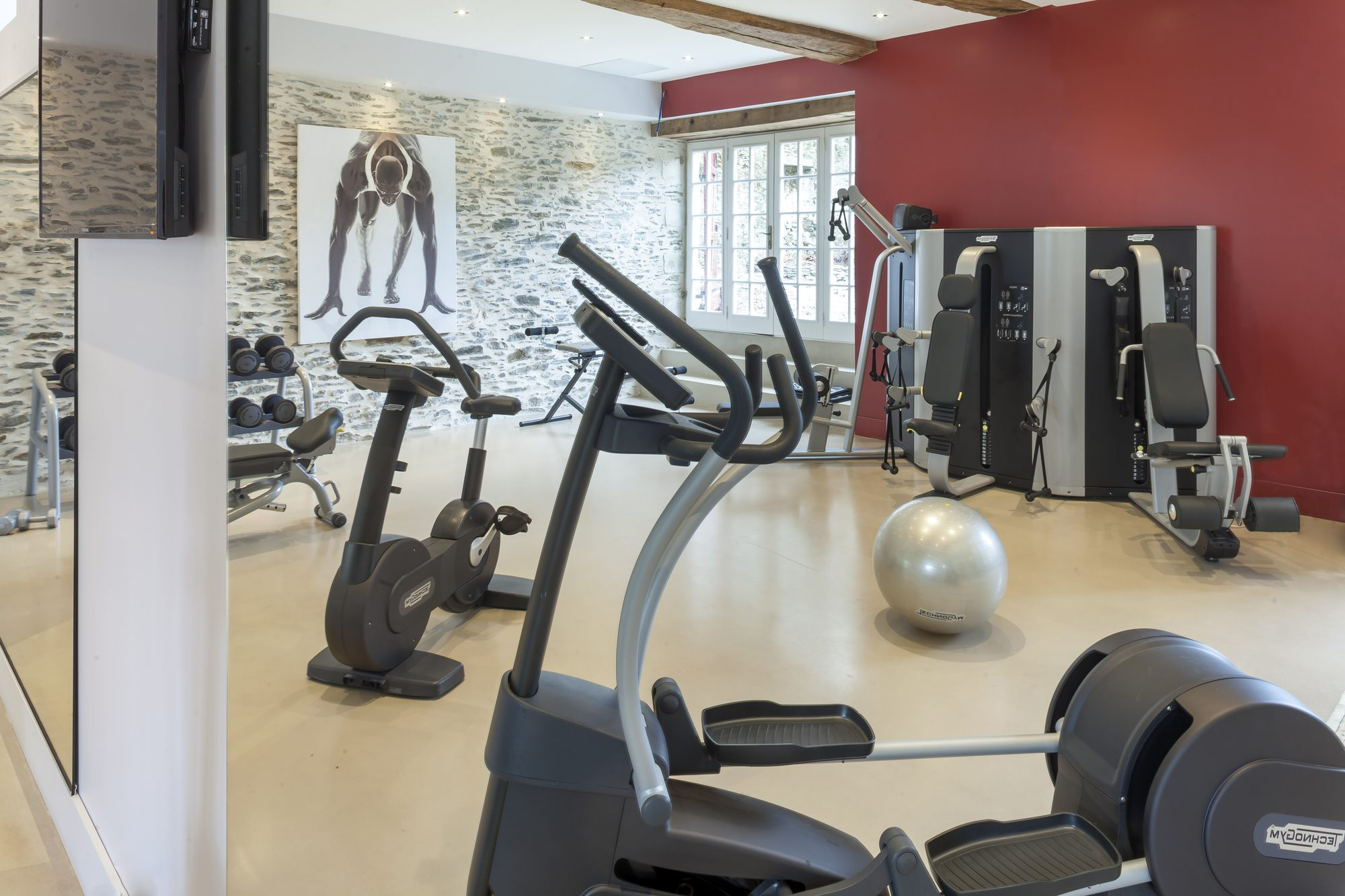 chateau epinay spa angers fitness salle sport